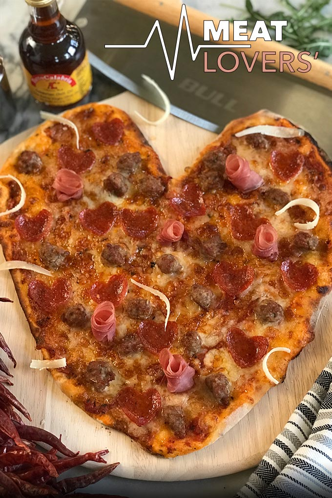 Valentines Day Pizza Valentines Day Heart Shaped Pizza